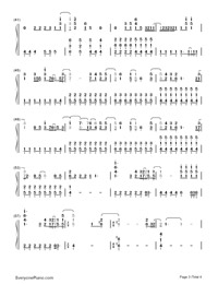 Believe in Me-Demi Lovato-Numbered-Musical-Notation-Preview-3
