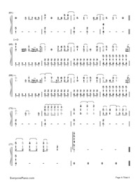 Believe in Me-Demi Lovato-Numbered-Musical-Notation-Preview-4
