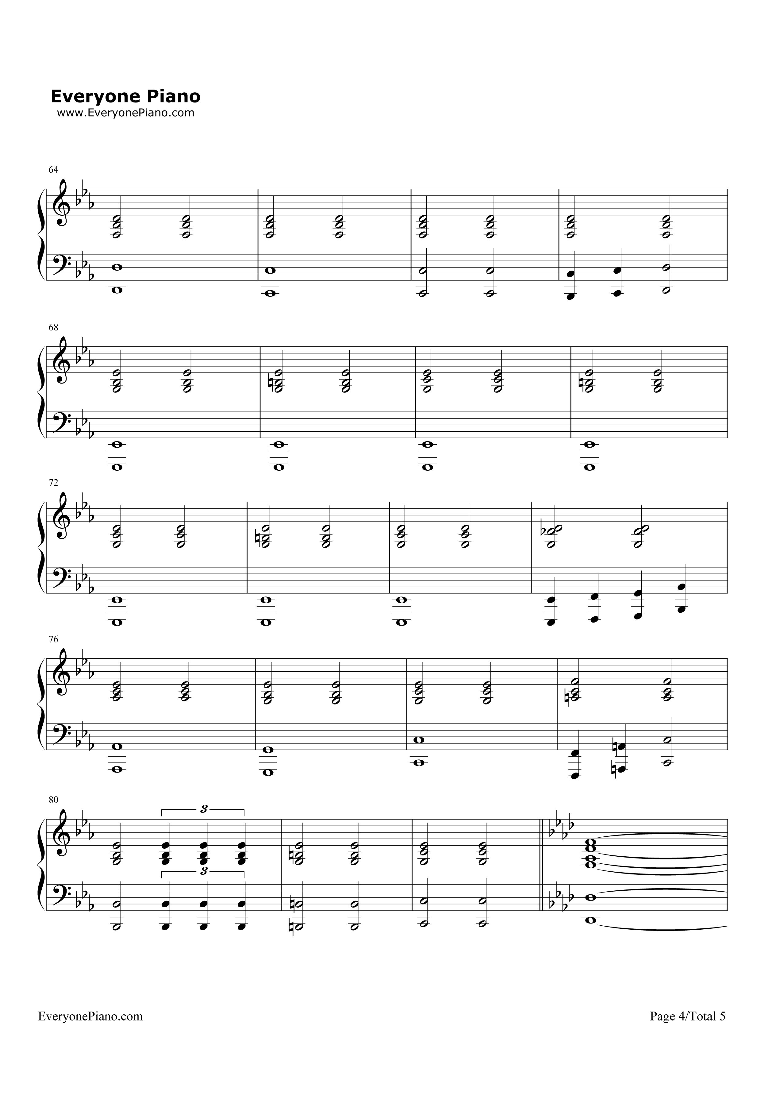 Impossible year panic at the disco stave preview 4 free piano listen now print sheet impossible year panic at the disco stave preview 4 hexwebz Images