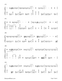 Actor-Xue Zhiqian Numbered Musical Notation Preview 3