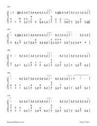 Actor-Xue Zhiqian Numbered Musical Notation Preview 4