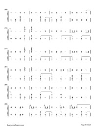 Youth-Troye Sivan-Numbered-Musical-Notation-Preview-4