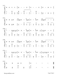 Youth-Troye Sivan-Numbered-Musical-Notation-Preview-6