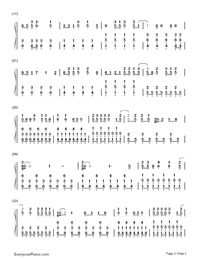 Sparks Fly-Taylor Swift-Numbered-Musical-Notation-Preview-2