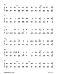 Lonely Ferris Wheel-Fahrenheit-Numbered-Musical-Notation-Preview-4