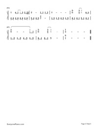 Lonely Ferris Wheel-Fahrenheit-Numbered-Musical-Notation-Preview-5