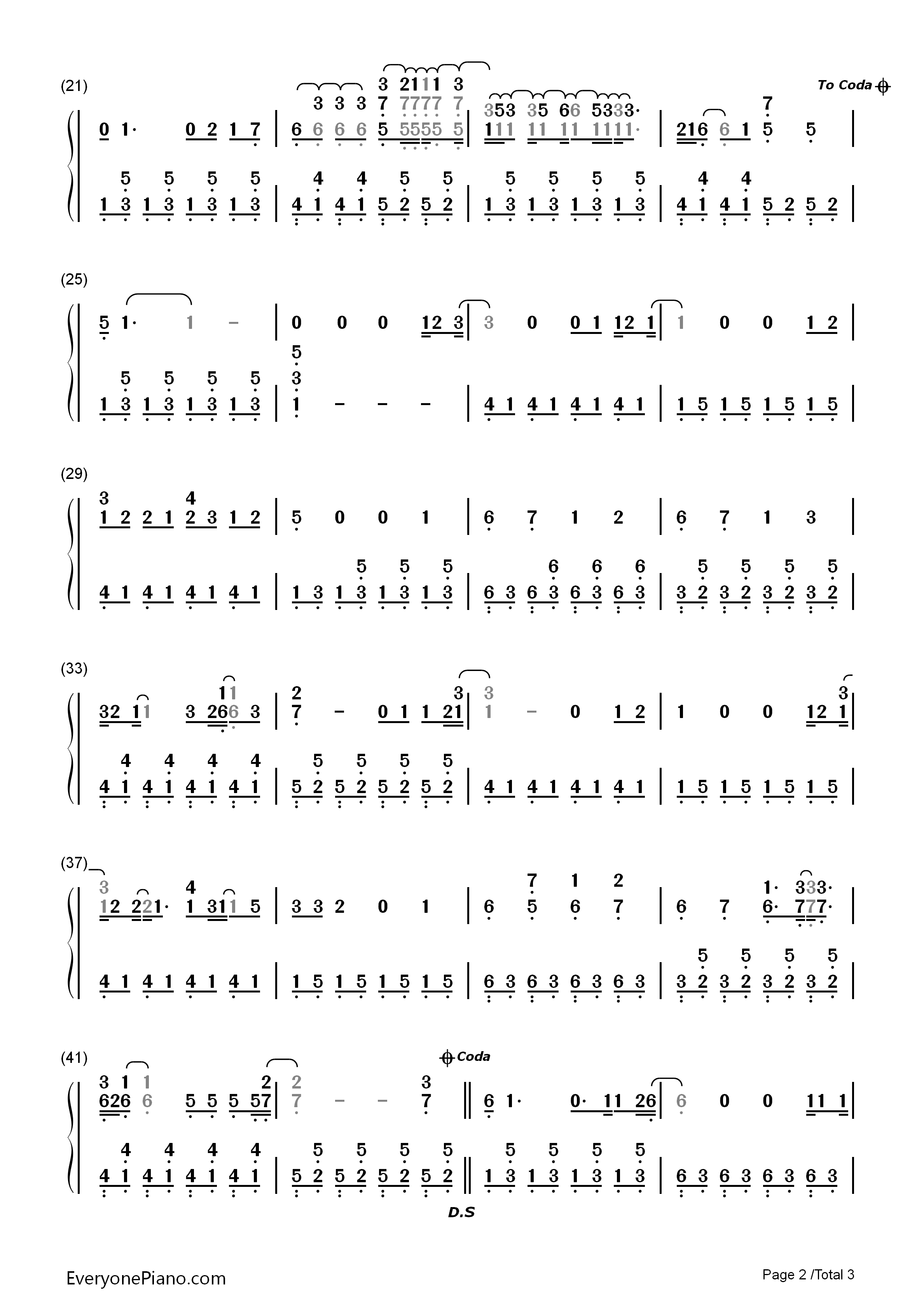 Catch me demi lovato numbered musical notation preview 2 free listen now print sheet catch me demi lovato numbered musical notation preview 2 hexwebz Gallery