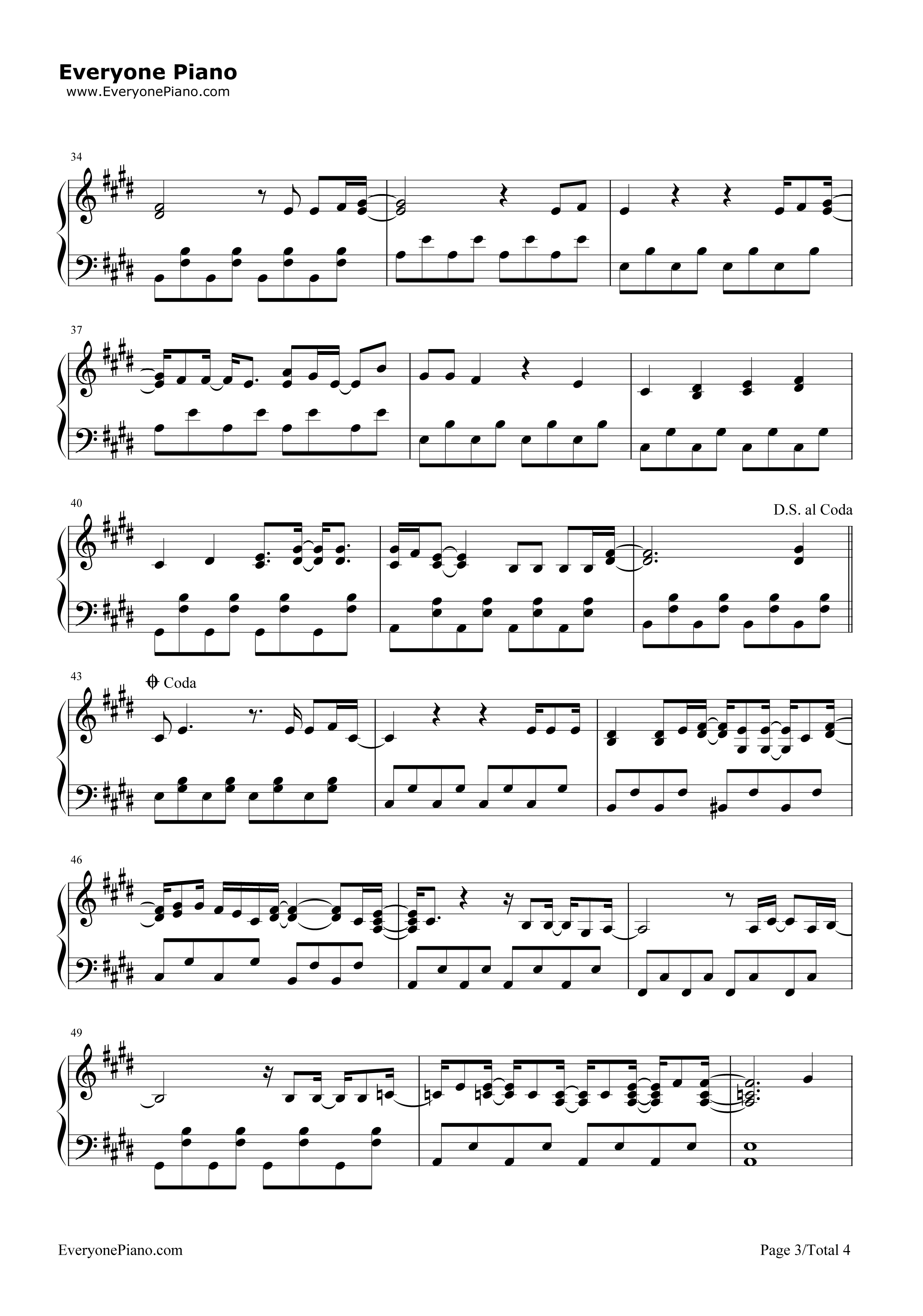 Catch me demi lovato stave preview 3 free piano sheet music listen now print sheet catch me demi lovato stave preview 3 hexwebz Gallery
