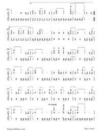 Remember December-Demi Lovato-Numbered-Musical-Notation-Preview-2