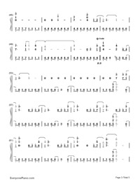 Remember December-Demi Lovato-Numbered-Musical-Notation-Preview-3