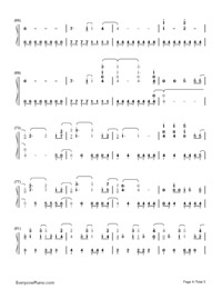 Remember December-Demi Lovato-Numbered-Musical-Notation-Preview-4
