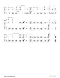 Remember December-Demi Lovato-Numbered-Musical-Notation-Preview-5