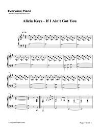 Alicia Keys Diamond Rings Chords