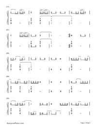 Blue-Troye Sivan-Numbered-Musical-Notation-Preview-2