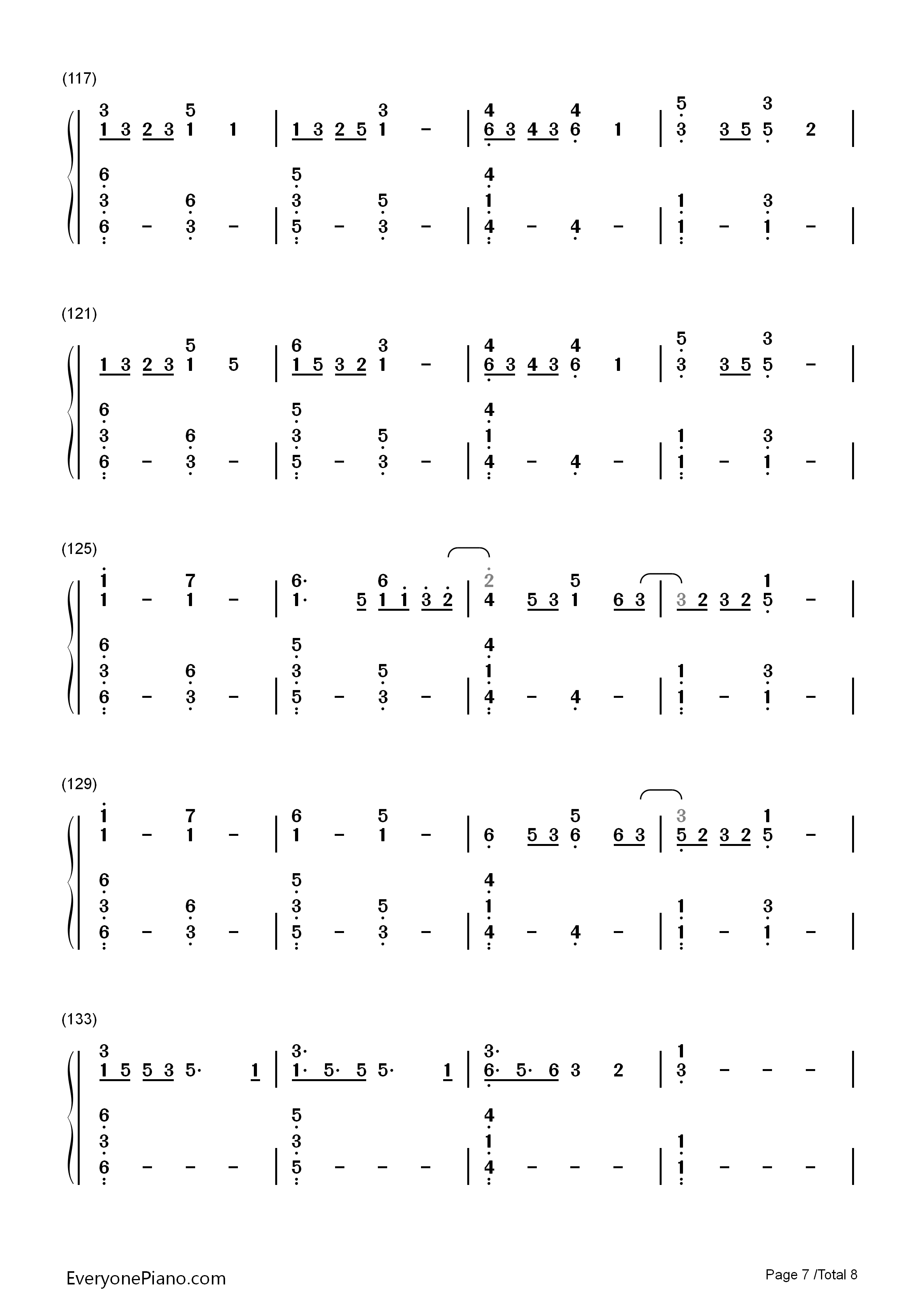 Lost boy ruth b numbered musical notation preview 7 free piano listen now print sheet lost boy ruth b numbered musical notation preview 7 hexwebz Image collections
