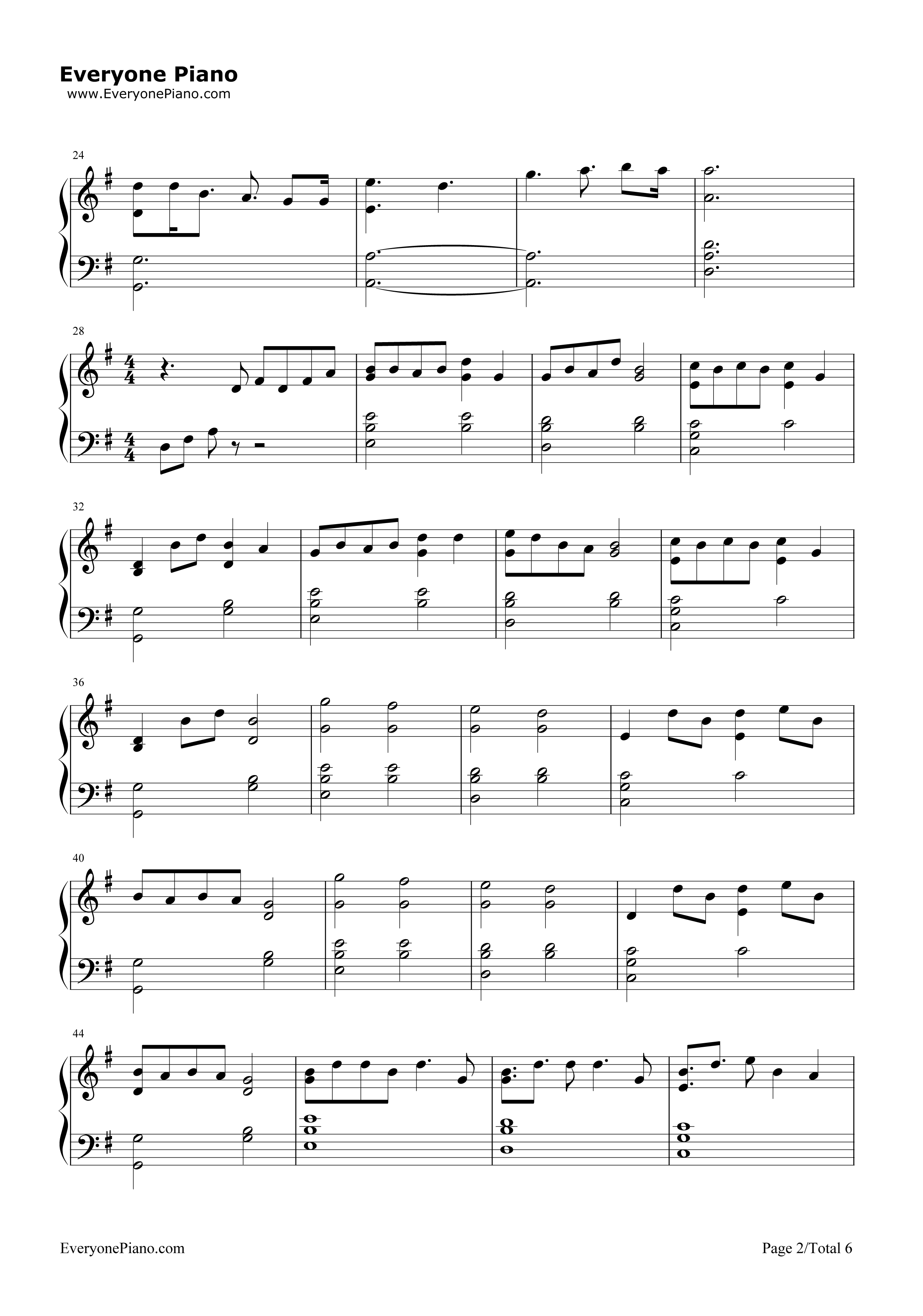 Lost boy ruth b free piano sheet music piano chords lost boy ruth b stave preview 2 hexwebz Image collections