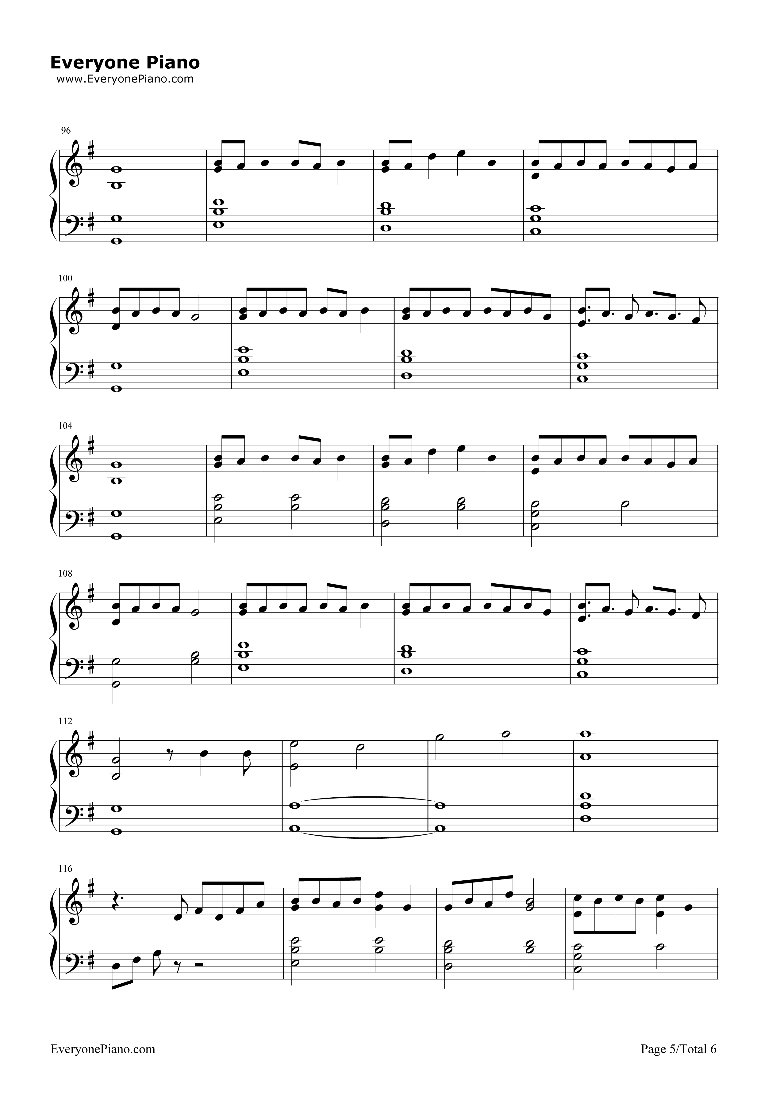 Lost boy ruth b free piano sheet music piano chords lost boy ruth b stave preview 5 hexwebz Images