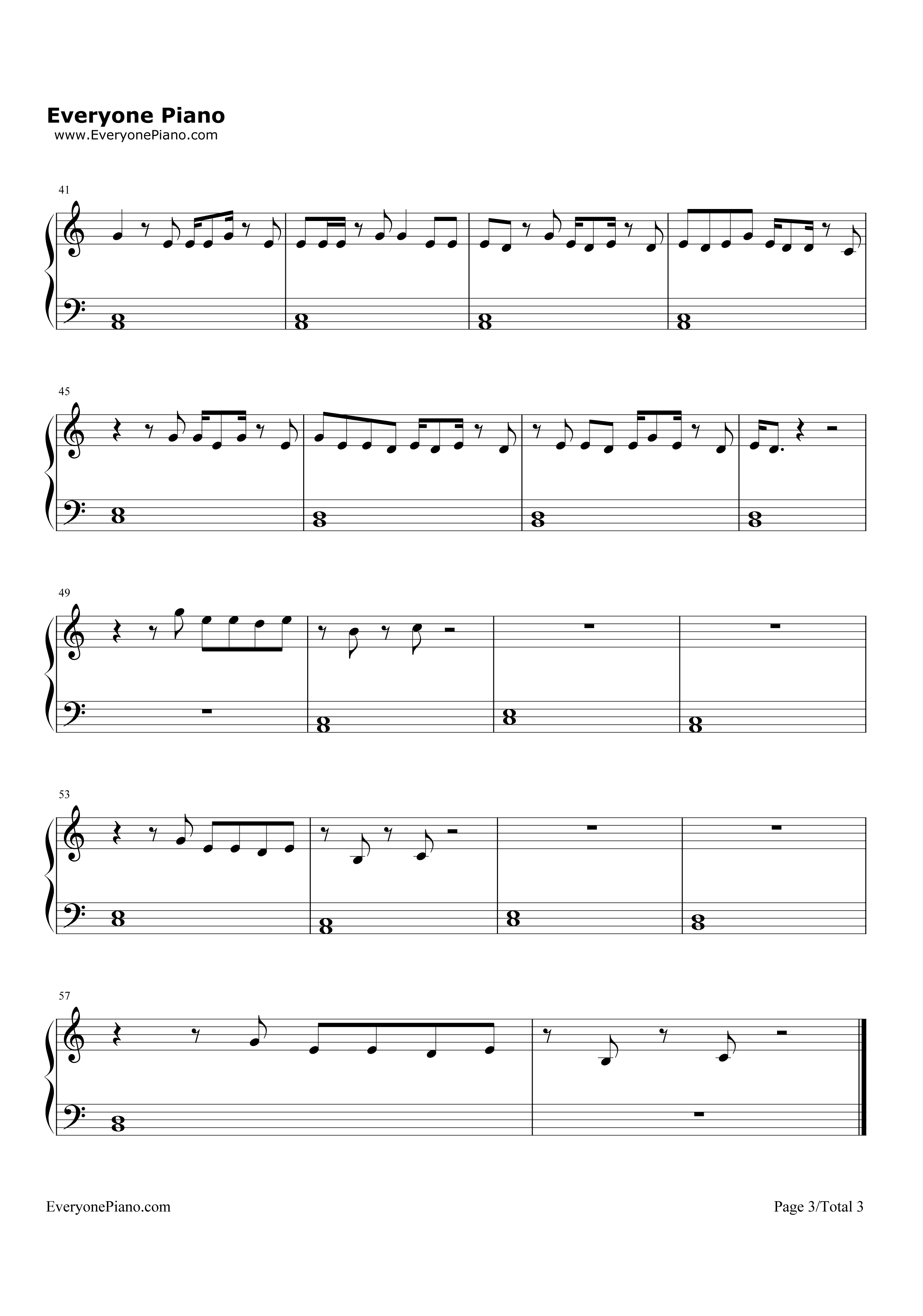 Guitar chords for wild thing gallery guitar chords examples wild things alessia cara stave preview 3 free piano sheet music listen now print sheet wild hexwebz Choice Image