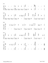 Tsuki no Namida-Tears of the Moon-Numbered-Musical-Notation-Preview-2