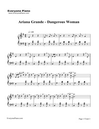dangerously piano sheet music pdf