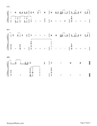 Small Bump-Ed Sheeran-Numbered-Musical-Notation-Preview-5