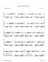 Grade 8-Ed Sheeran-Numbered-Musical-Notation-Preview-1
