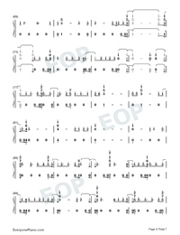 Daddy Issues-Demi Lovato-Numbered-Musical-Notation-Preview-4