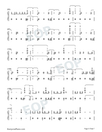 Daddy Issues-Demi Lovato-Numbered-Musical-Notation-Preview-5