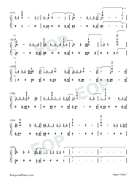 Daddy Issues-Demi Lovato-Numbered-Musical-Notation-Preview-6
