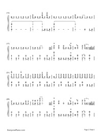 No Poi!-Is the Order a Rabbit OP-Numbered-Musical-Notation-Preview-2
