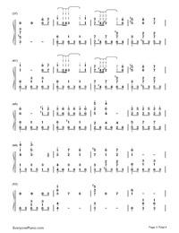 前世情人-周杰伦钢琴谱档(五线谱,双手简谱,数位谱,,)图片