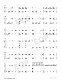 大魚-周深雙手簡譜預覽3