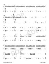 大魚-周深雙手簡譜預覽4