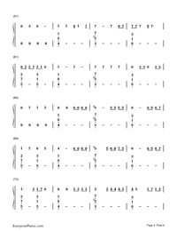No-Meghan Trainor-Numbered-Musical-Notation-Preview-4