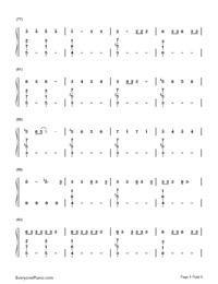 No-Meghan Trainor-Numbered-Musical-Notation-Preview-5