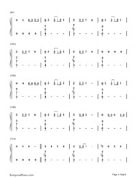 No-Meghan Trainor-Numbered-Musical-Notation-Preview-6