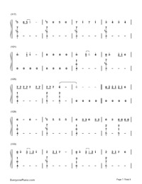 No-Meghan Trainor-Numbered-Musical-Notation-Preview-7