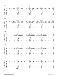 Something in the Way You Move-Numbered-Musical-Notation-Preview-2