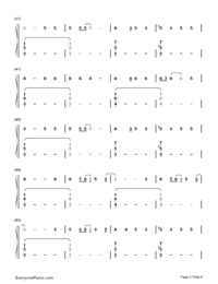 Unstoppable-Sia Free Piano Sheet Music & Piano Chords