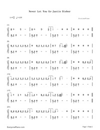 you never let go chords pdf