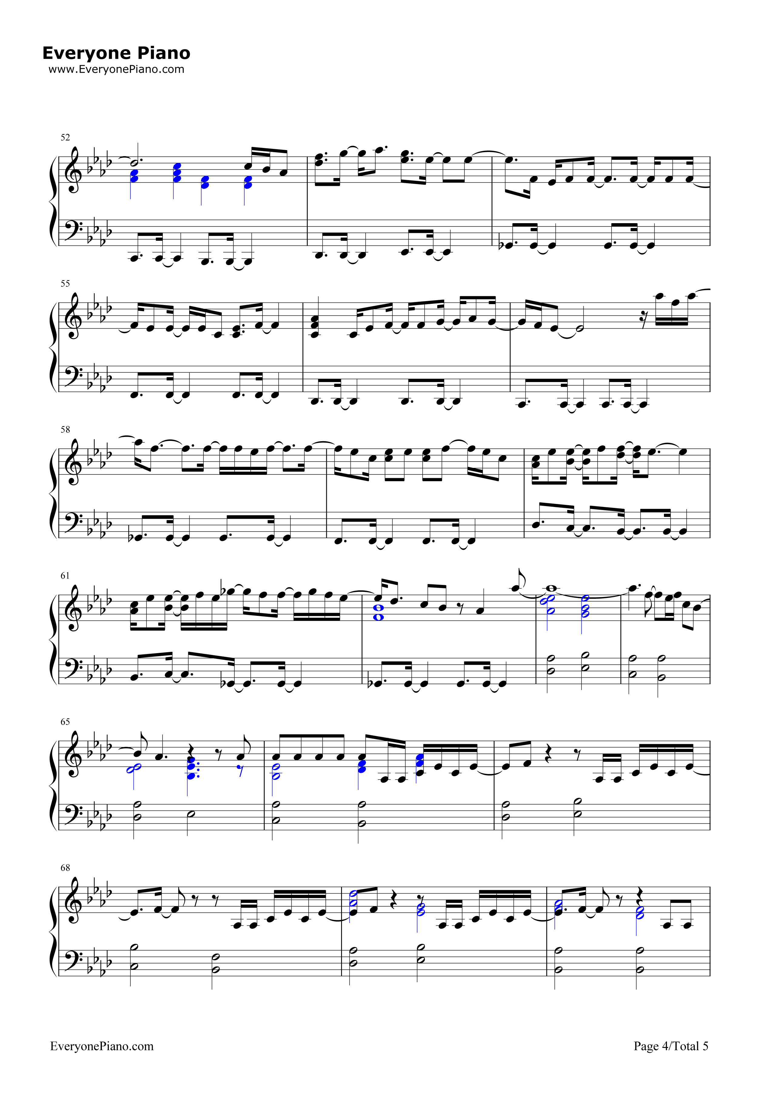 Hate that i love you rihanna free piano sheet music piano chords hate that i love you rihanna stave preview 4 hexwebz Choice Image