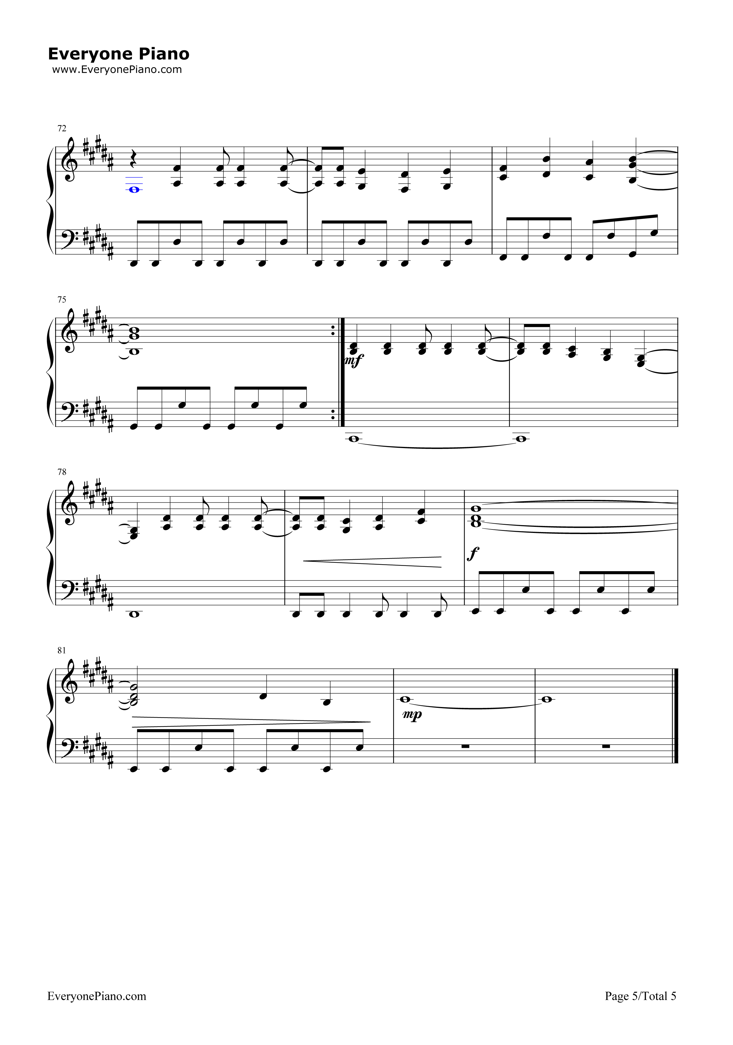 hopes and dreams piano sheet music pdf