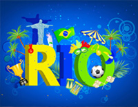 Rio Gods Come-2016 Summer Olympics in Brazil