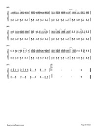 Swinging Heart-Numbered-Musical-Notation-Preview-3