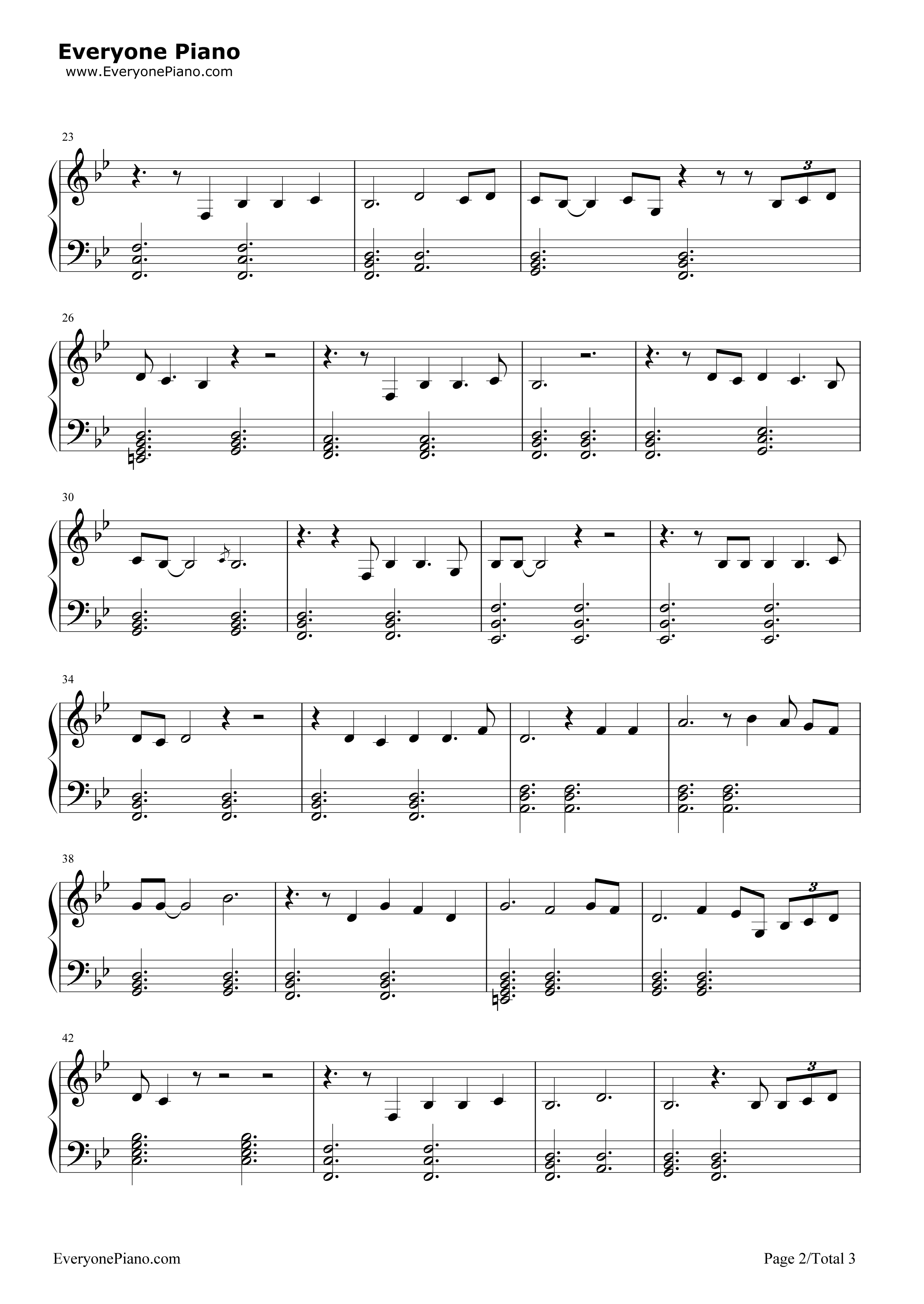 Sandcastles beyonc stave preview 2 free piano sheet music listen now print sheet sandcastles beyonc stave preview 2 hexwebz Gallery