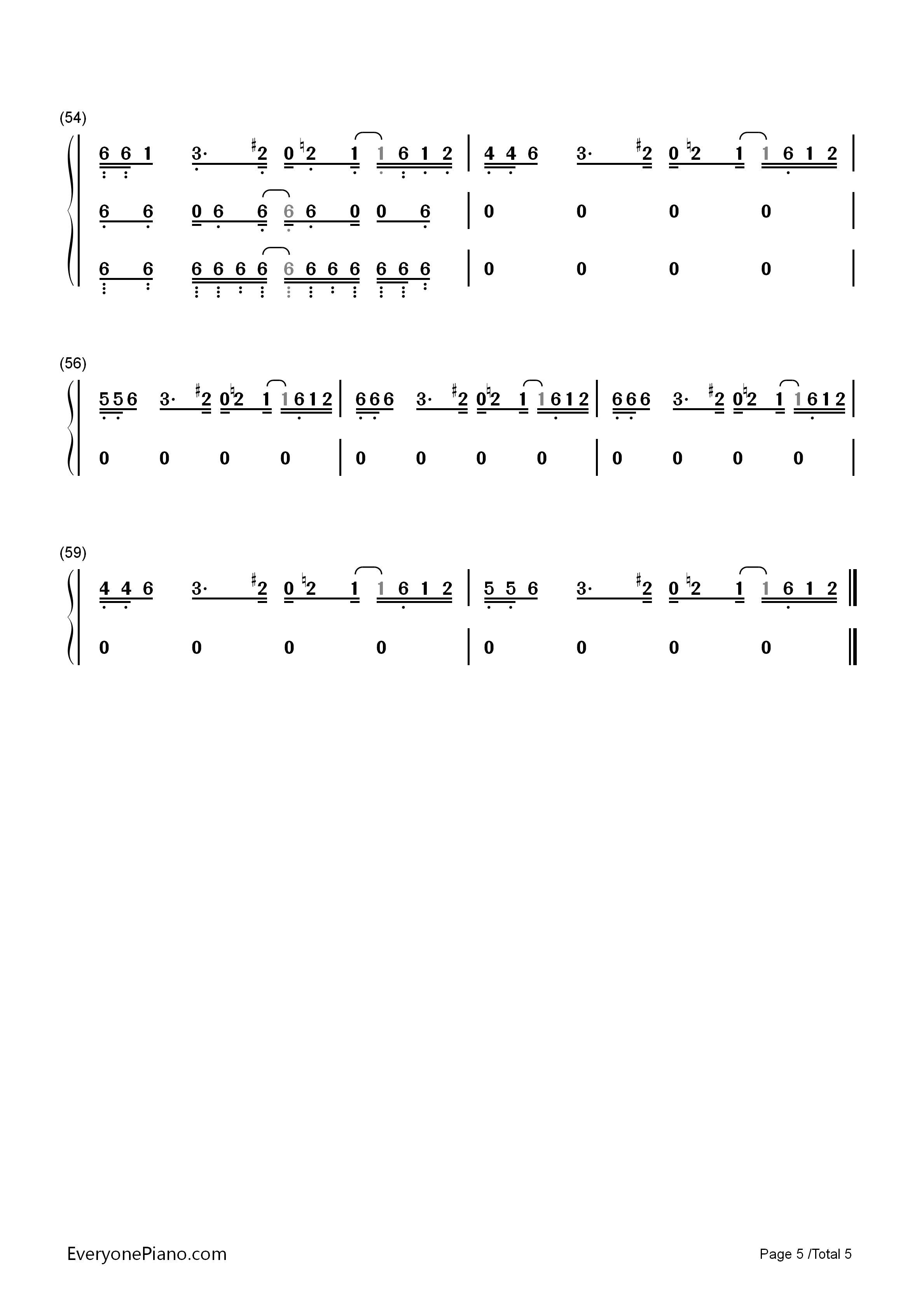 Megalovania Piano Partition