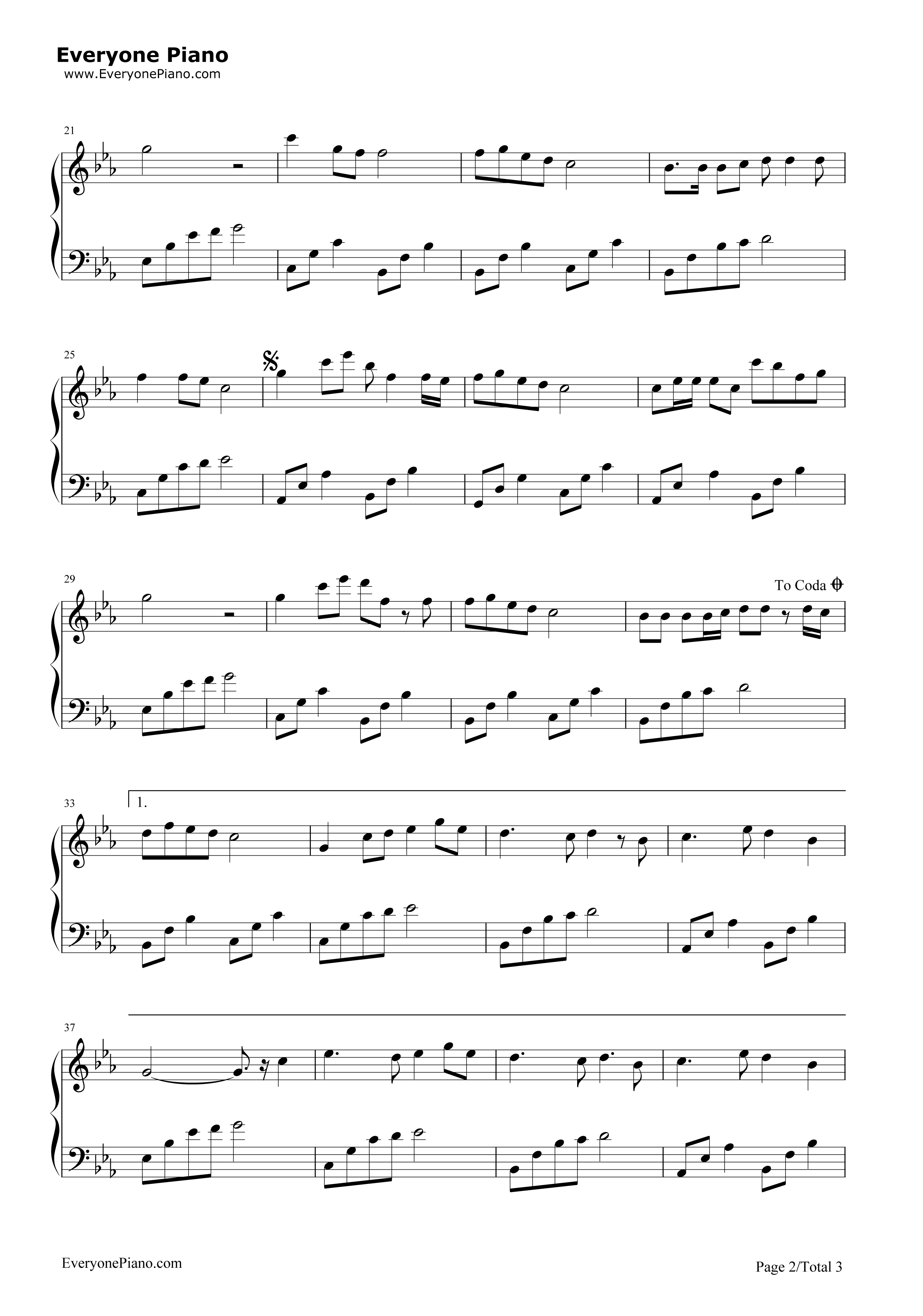 mario let me love you piano sheet music pdf