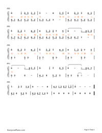 Wish To Be A Lotus Afterlife-Wei Xinyu-Numbered-Musical-Notation-Preview-4