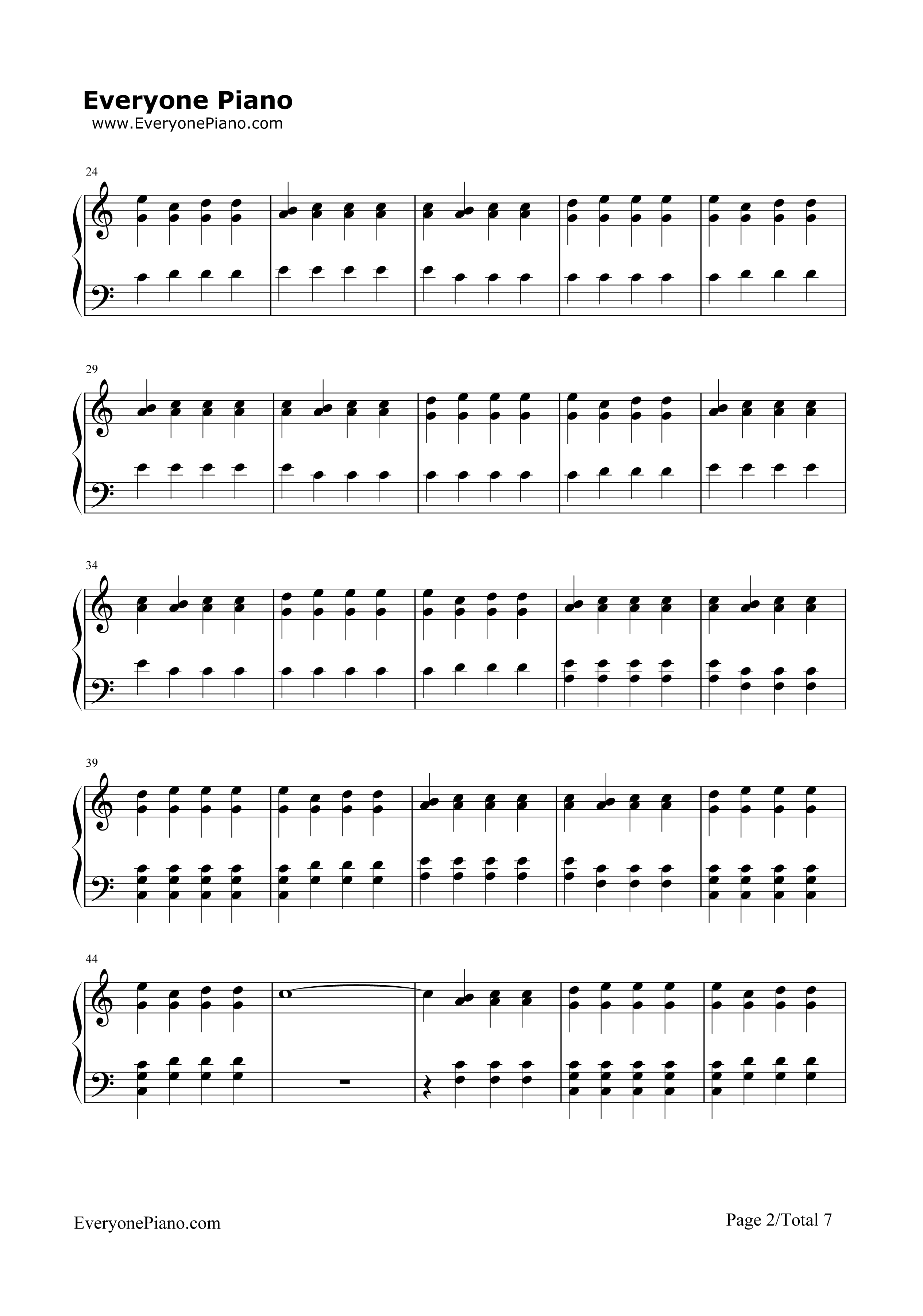 Migraine twenty one pilots stave preview 2 free piano sheet music listen now print sheet migraine twenty one pilots stave preview 2 hexwebz Images