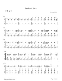 Hands of Love-Miley Cyrus-Numbered-Musical-Notation-Preview-1